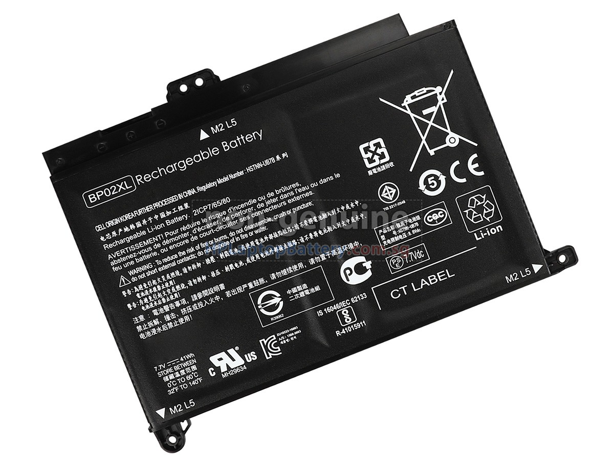 Battery For Hp Pavilion 15 Au023cl Replacement Hp Pavilion 15 Au023cl Laptop Battery From Singapore 41wh 2 Cells