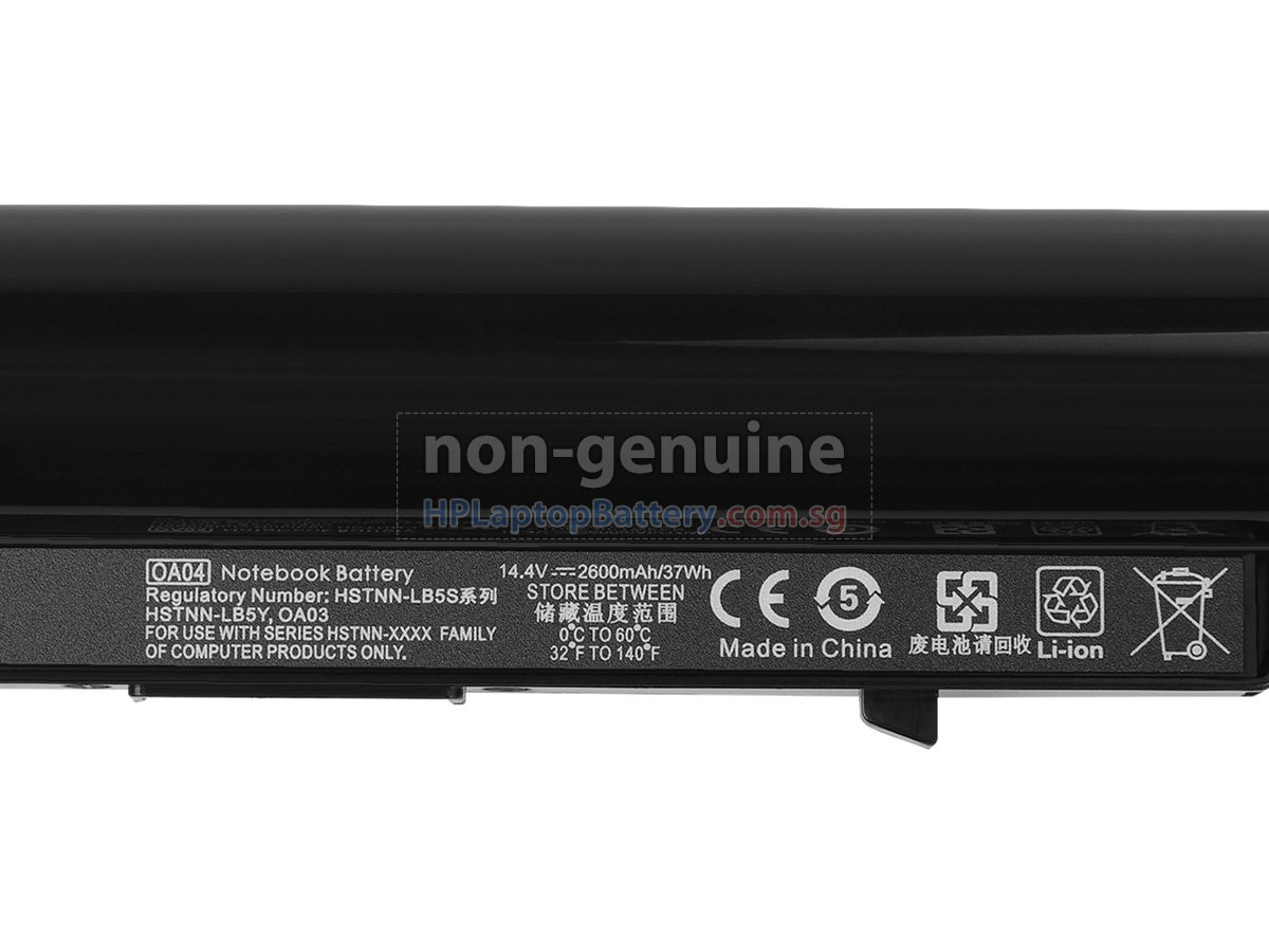 Compaq 14-A002TX battery replacement