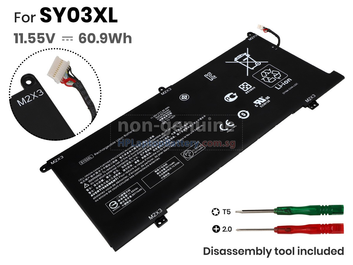 Battery For Hp Chromebook Enterprise X360 14e G1 Replacement Hp Chromebook Enterprise X360 14e G1 Laptop Battery From Singapore 60 9wh 3 Cells