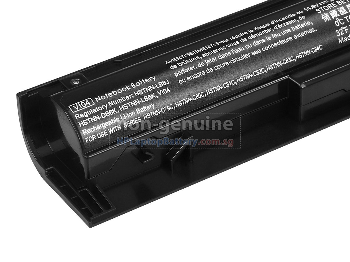 HP VI04 battery replacement