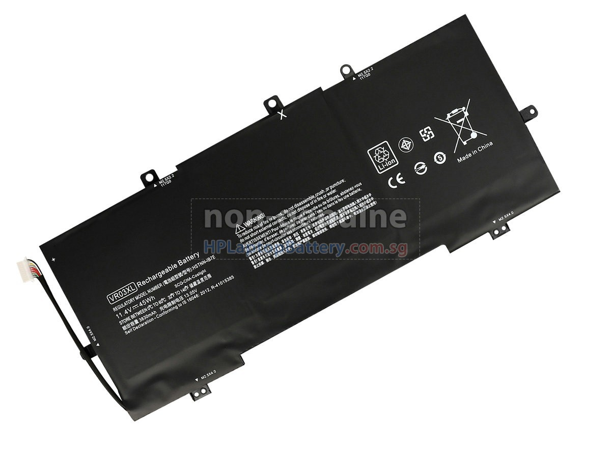 HP VR03XL battery replacement