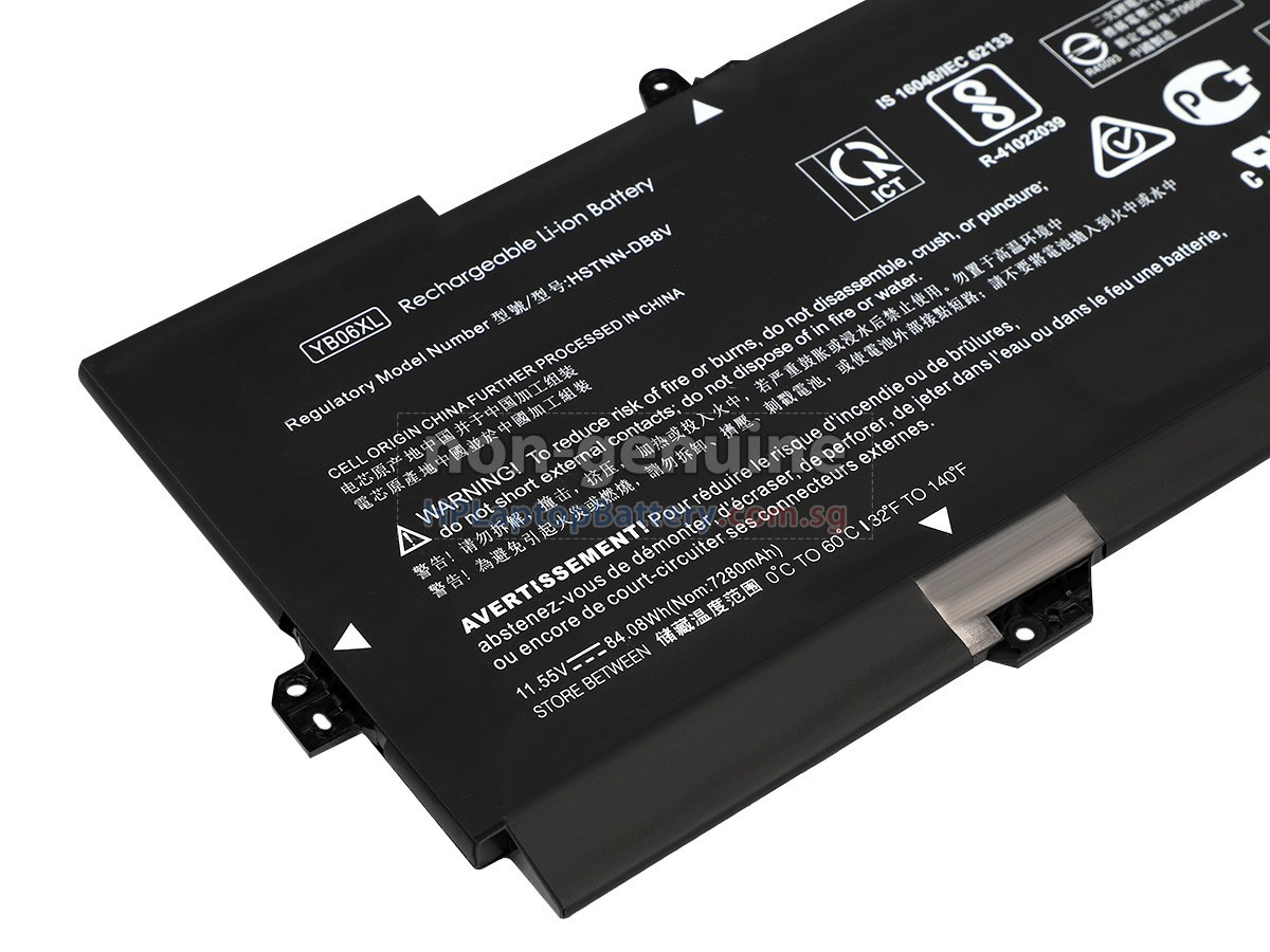 HP Spectre X360 15-CH010TX battery replacement