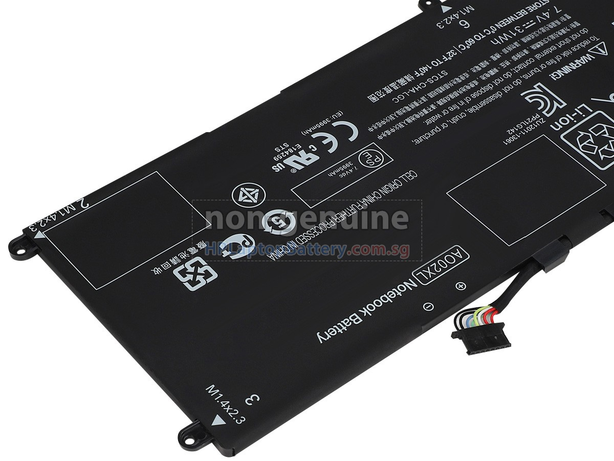 HP AO02XL battery replacement