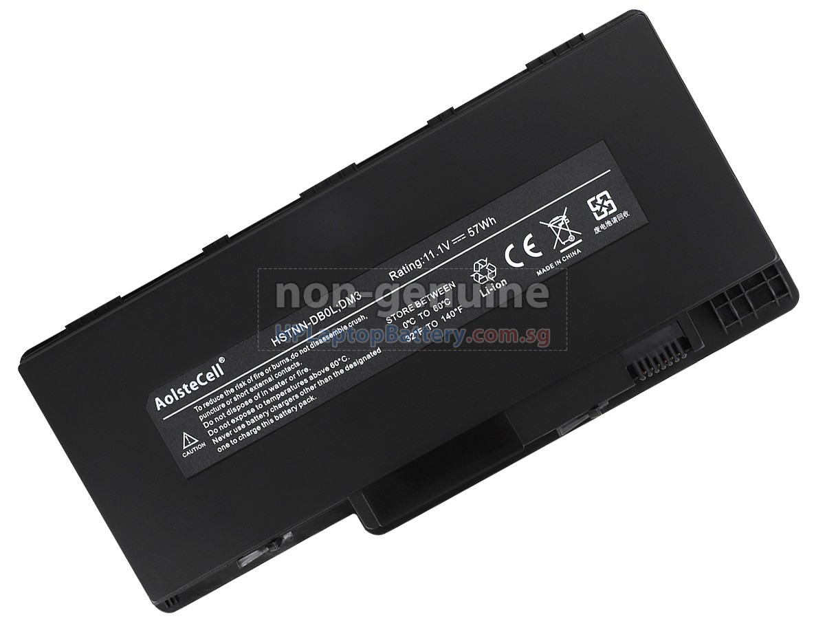 Battery For Hp Pavilion Dm3 1030us Replacement Hp Pavilion Dm3 1030us Laptop Battery From Singapore 57wh 6 Cells