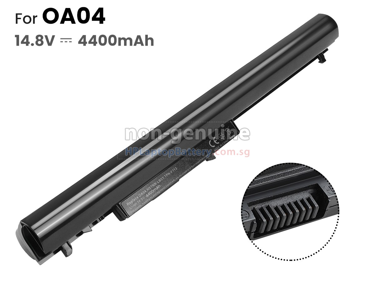 Compaq 14-S006TX battery replacement