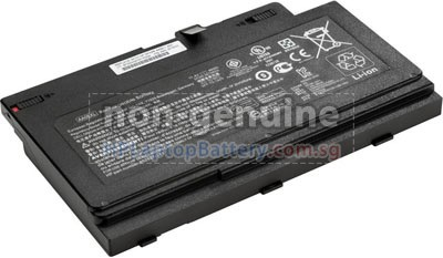 Battery for HP ZBook 17 G4 Mobile Workstation laptop